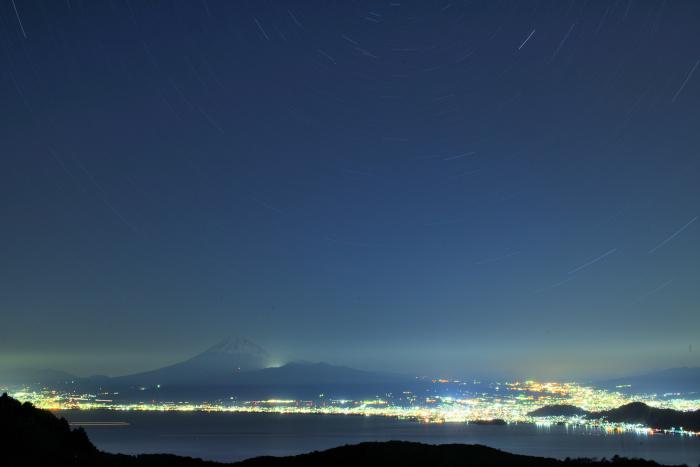 駿河湾夜景