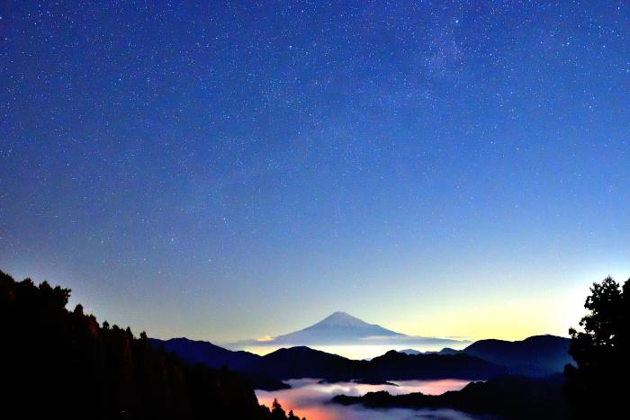 午前5時の天の川