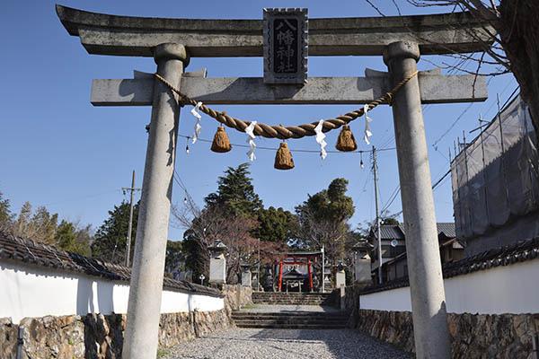 二川宿、八幡神社