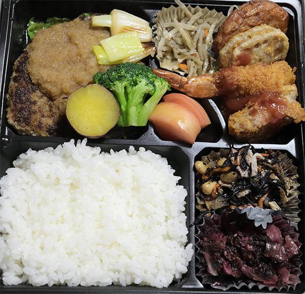 洋食工房のお弁当(1,000円)