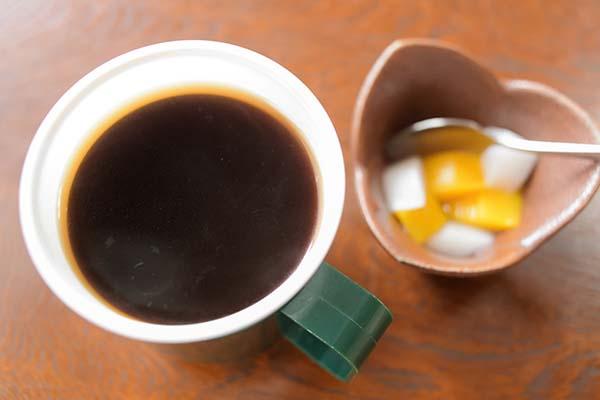 ランチ後のコーヒー一杯無料