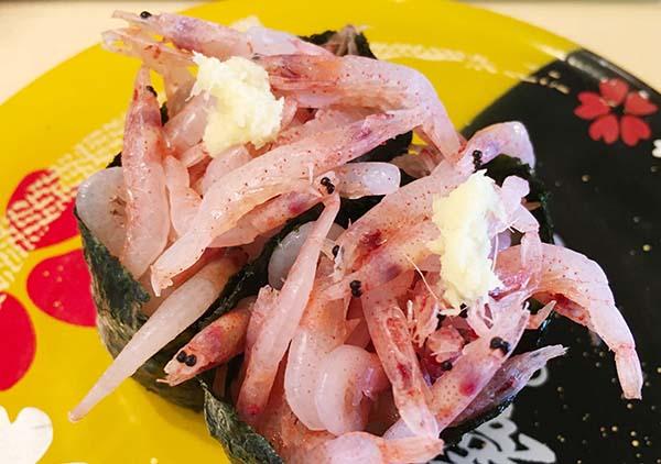 冷凍だろうけれど桜海老が食べられました