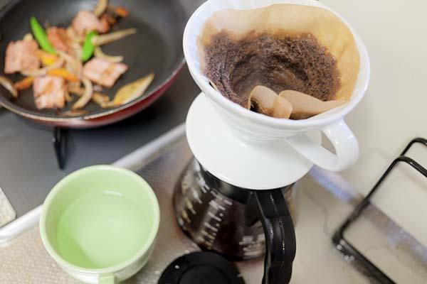 カレーにはコーヒーを(キリマンジャロ)