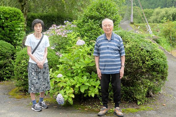 父母の記念撮影