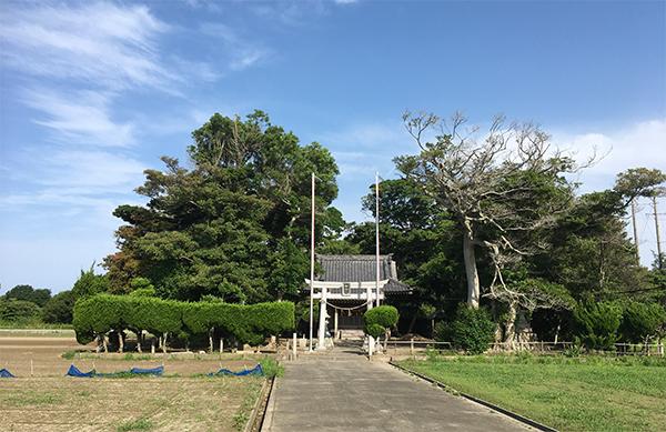 中田島白山神社