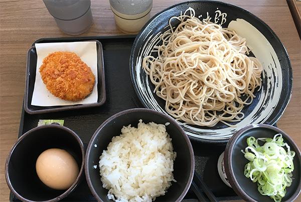 蕎麦モーニング