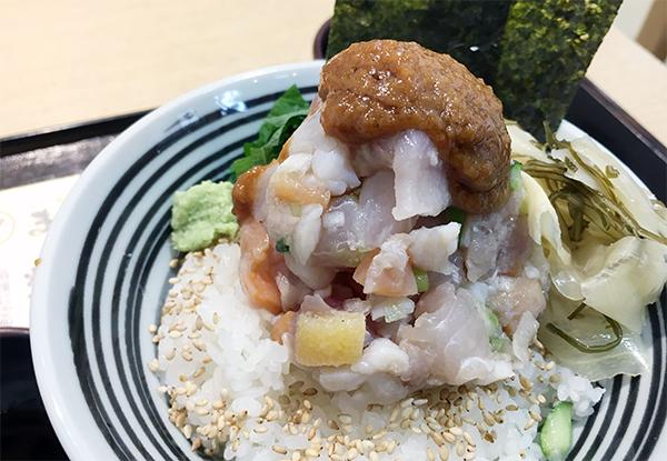 海鮮たたき飯