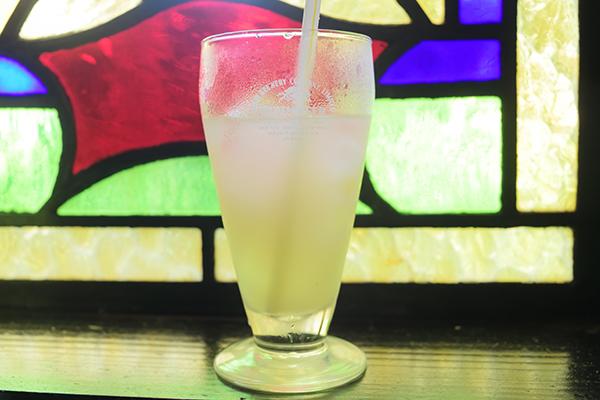 茶里庵のグレープフルーツジュース