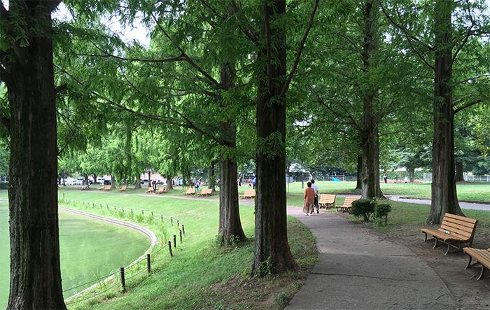 川越水上公園でモーニングを食べる。