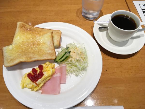 トーストモーニング400円