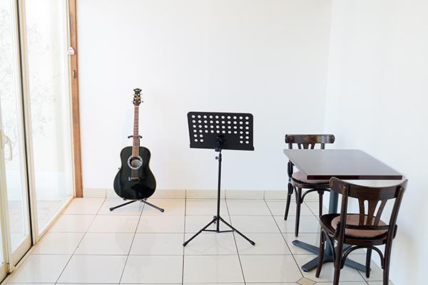 ギターのある空間