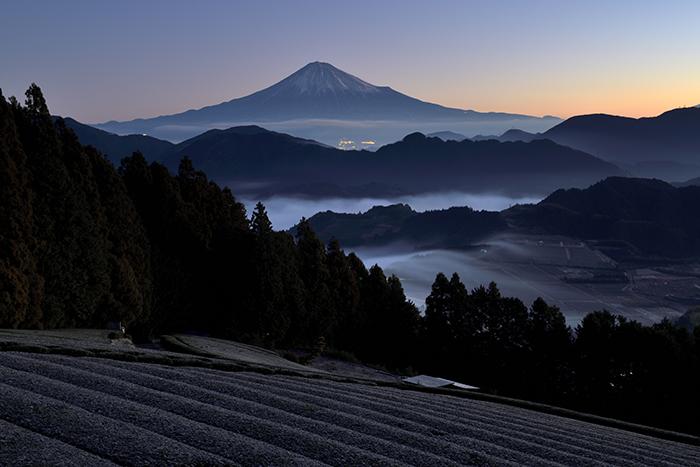富嶽、霜雲