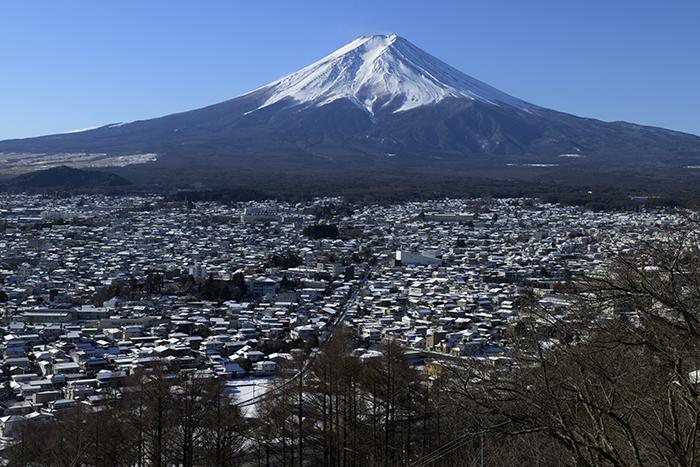 富士吉田市展望