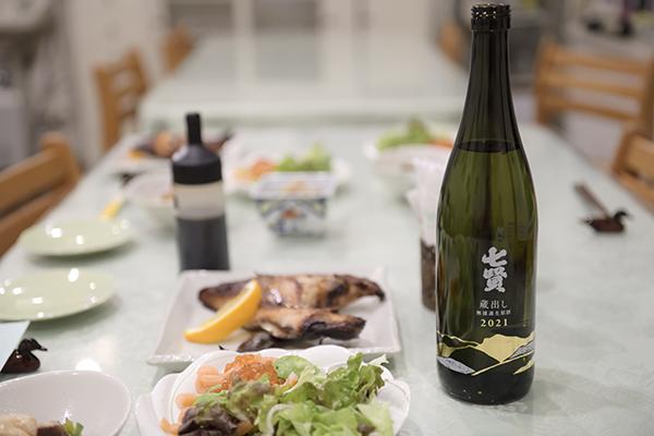 南アルプス天然水を使った日本酒、七賢