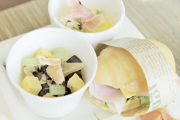 チラシ寿司、サンドイッチなど