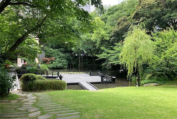 浮月楼庭園