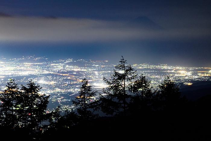 甘利山夜景