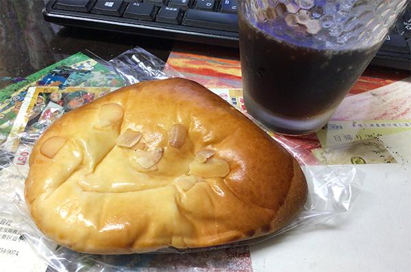 麦と豆のクリームパン