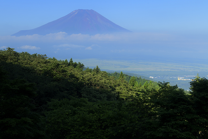 二十曲峠からの富士山