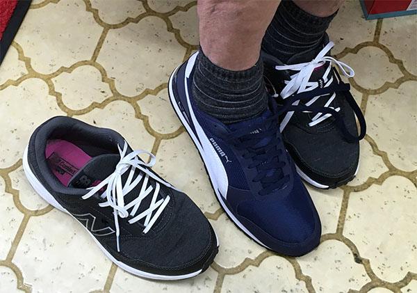 母はこの靴が気に入ったようです