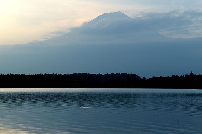 富士山が出現