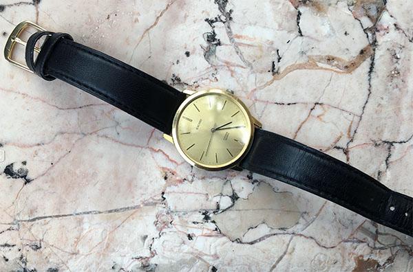 時計は一生もの。40年の相棒です