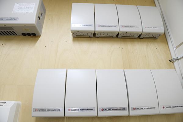 ITシステム室の予備電源の内部監査をしました