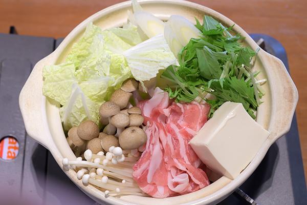 蕎麦屋さんの湯豆腐