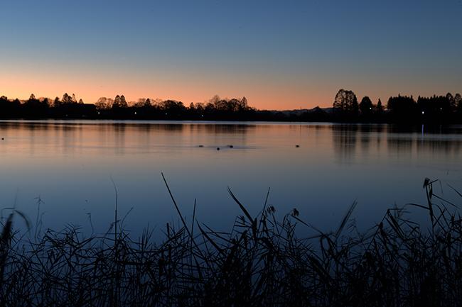 湖畔のリフレクション