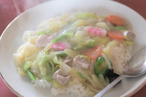 私は中華飯でした