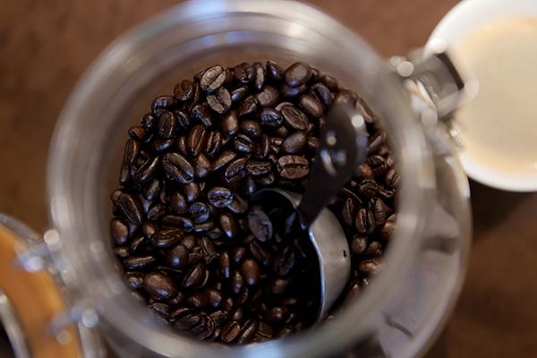 モーニングコーヒーはセルフでした