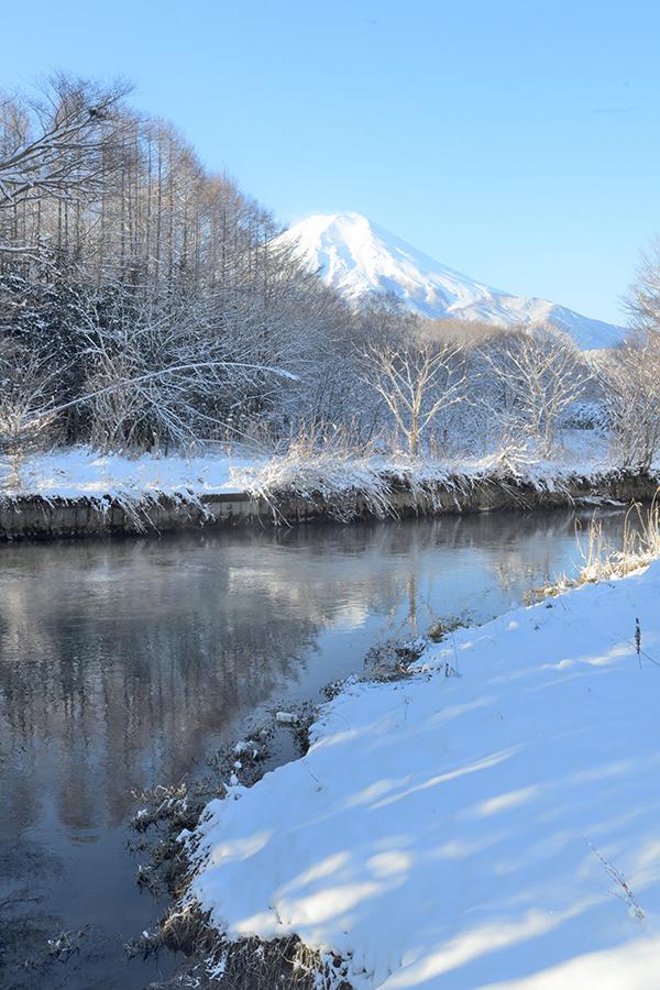 ケアラシと富士山